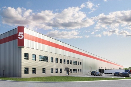 Nové logistické centrum pri Žiline